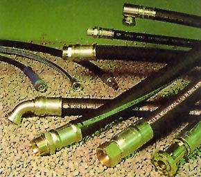 Hydraulic Hoses, Components, Lubricants and Industrial Hoses